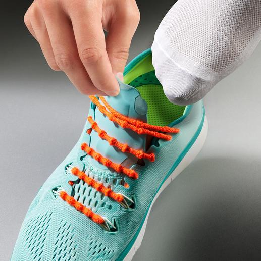 Xtenex Schnürsystem - Schluss mit Schnürsenkel binden. Von Weltklasse-Athleten getragen und empfohlen.