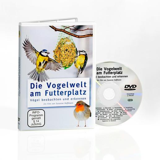 """DVD """"Die Vogelwelt am Futterplatz"""""""