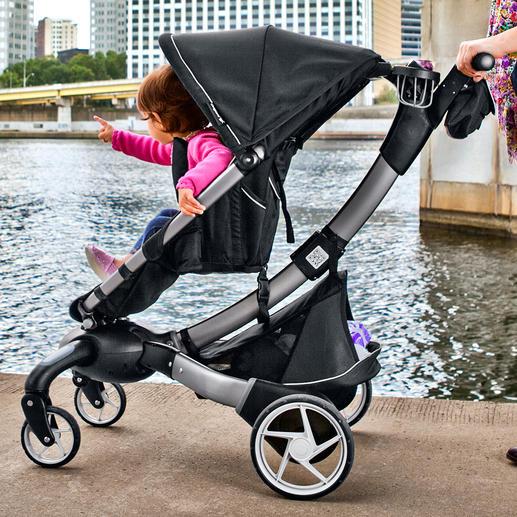 Origami™ Komfort-Kinderwagen/-Buggy - Der erste elektrisch faltbare Kinderwagen der Welt. Auf Knopfdruck.