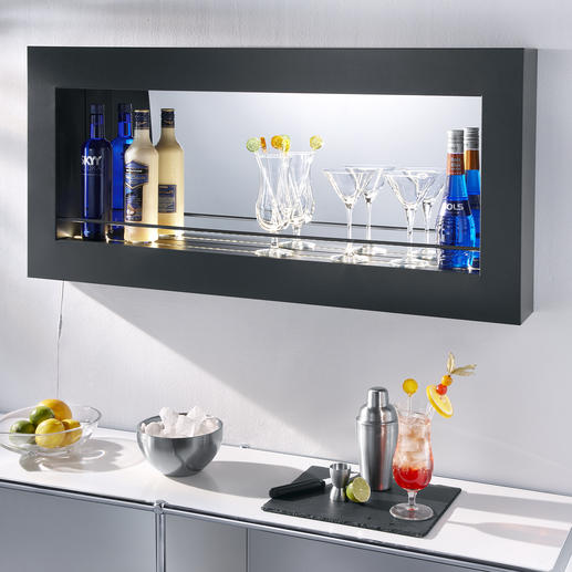 LED Spiegel-Regal Elegante Bar-Atmosphäre. Oder Eyecatcher in Bad, Küche, ...