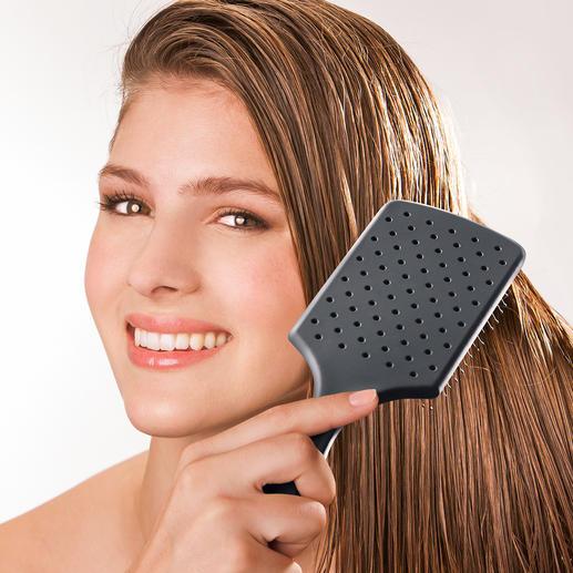 WetBrush® Paddle Brush - Schluss mit Ziepen, Verknoten, Reißen bei frisch gewaschenem Haar.