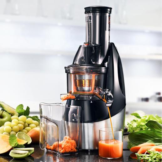 Caso Slow Juicer SJW450 - Frische, gesunde Säfte – schonend kaltgepresst (statt zentrifugiert).