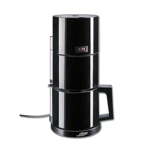 Kaffeemaschine, Schwarz