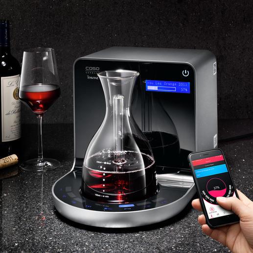iSommelier - Geniale Erfindung belüftet Ihren Wein mit hochkonzentriertem Sauerstoff. In wenigen Minuten (!).