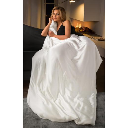Bettdecke aus Seide, Komfortgröße 200 x 220 cm