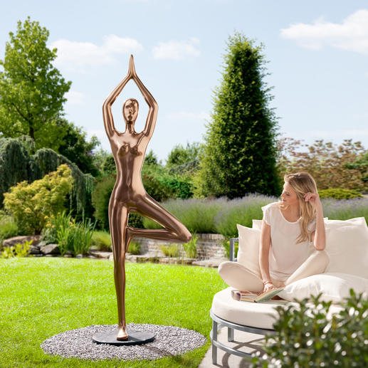 yoga statue baum 3 jahre garantie pro idee. Black Bedroom Furniture Sets. Home Design Ideas