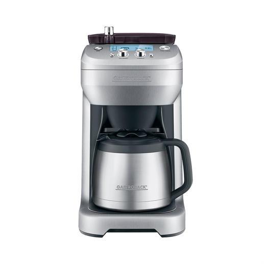 """Kaffeemaschine """"Grind & Brew"""" - Frisch gemahlen und sofort gebrüht: 1 Tasse oder 1 Kanne. Einfach auf Tastentipp."""