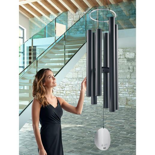 Gigantisches Wind-Klangspiel Eindrucksvoll in Größe und Klangqualität: Dieses edle Windspiel verzaubert Ihren Garten, Ihre Wellness- und Innenräume.