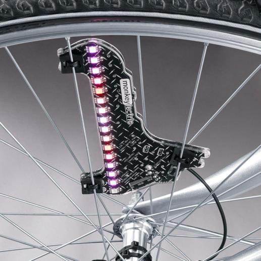 Mit 3 Speichen-Clips ist das LED-Modul schnell und vibrationssicher montiert