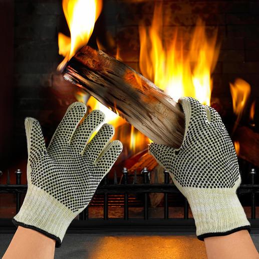 Hitzeschutz-Handschuhe, 2 Stück