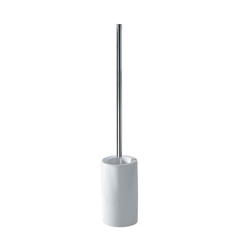 WC-Bürstengarnitur mit extralangem Stiel