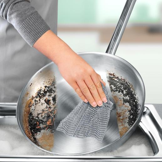 mono Softmesh-Reinigungsgewebe Gründlicher, haltbarer, hygienischer. Qualität made in Germany.