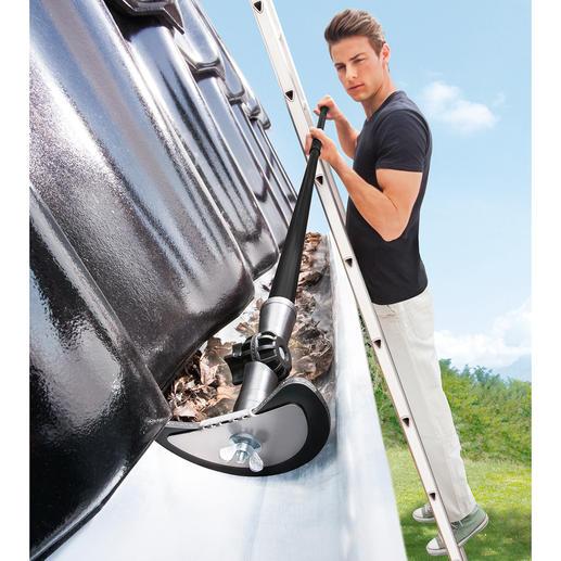Dachrinnen-Reinigungsset, 2-teilig Dachrinnen reinigen – einfach wie nie. Bis zu 4 m in einem Arbeitsgang.