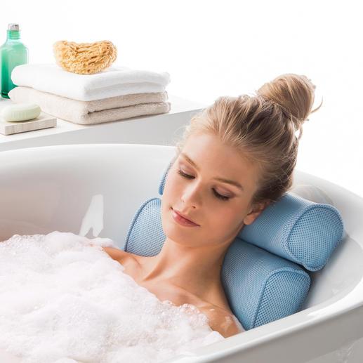 Entspannen Sie beim Baden gleich doppelt mit dem lordosestützenden Badekomfort-Set.