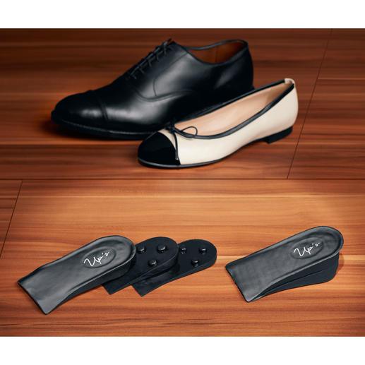 Push-up-Einlegesohlen Verlängern Sie Ihre Beine unsichtbar bis zu 4,7 cm - für fast jeden Schuh und alle Gelegenheiten.