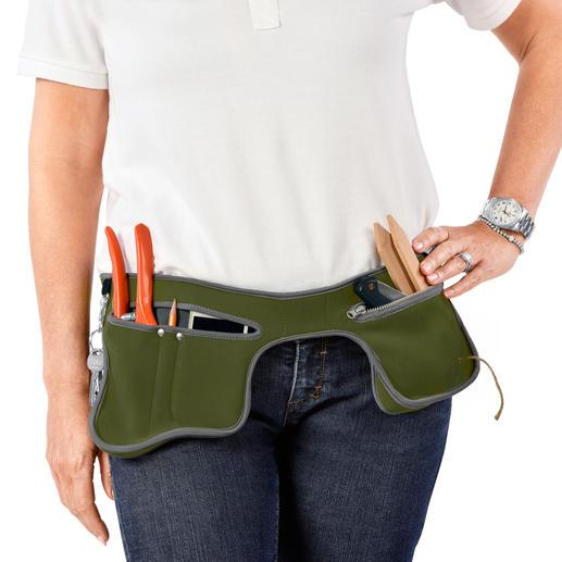 Garten-Holster poc-kit™ - Mit dem Gartenholster haben Sie beide Hände frei bei der Gartenarbeit, beim Heimwerken, Hundespaziergang, Angeln, Radfahren...