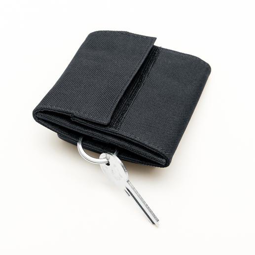 Die Tasche schirmt 100%ig gegen Bluetooth, WLAN, GPS, und GSM ab.
