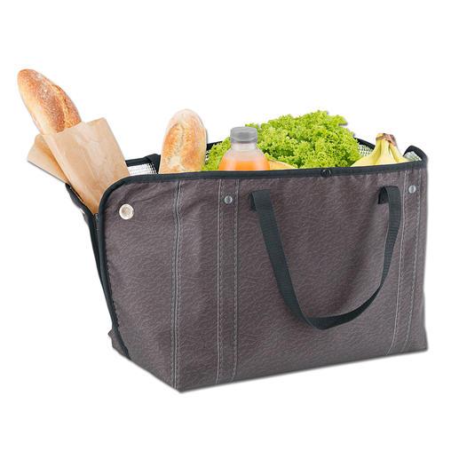 Vielfältig und wandelbar: Verwandeln Sie die Zipzipbags in eine 2fach unterteilten Fashion-Tasche, eine Picknick-Matte, eine große Kühl- oder Einkaufstasche, ...