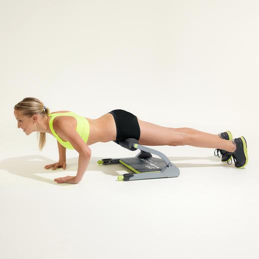 Mi Liegestützen trainieren Sie speziell Ihre Schulter-, Arm- und Brustmuskulatur.