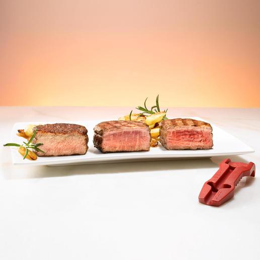 Für punktgenau gegrillte und gebratene Steaks.