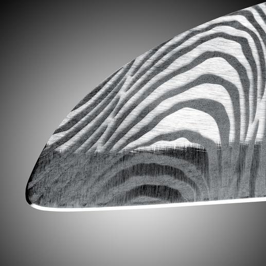Der doppelseitige Schliff von Hand macht die Klingen besonders fein und schnittfreudig.