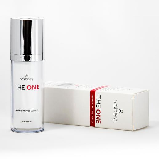 """""""The One"""" Gesichtspflege Erstmals als 5fach-Kombination in einer All-in-one-Pflege für sichtbar jüngere Haut und strahlendem Teint."""