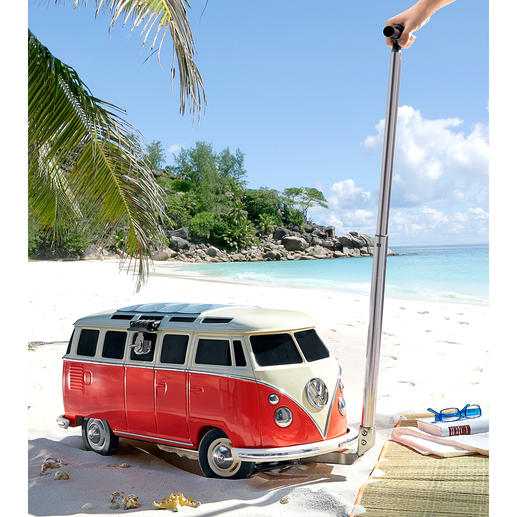 Kühlbox VW Bulli - Hält über 26 Liter eisgekühlt – perfekt für Festival, Party, Strand, Garten, ... Von VW offiziell lizenziert.