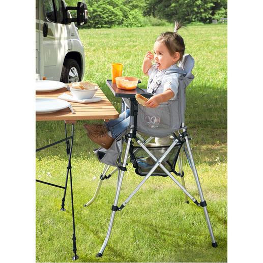 Faltbarer Kinderhochstuhl Ideal für den Urlaub, Besuch bei Freunden, Tanten, Großeltern, ...