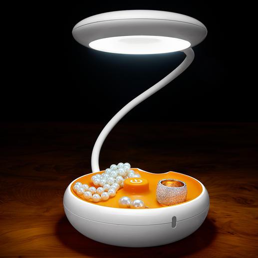 Akku-Vario-Leuchte - Genial vielseitig: Tisch-, Hand- und Hängeleuchte in einem. Kabellos.