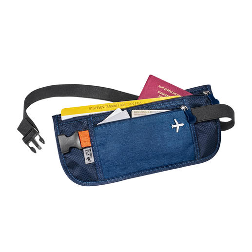RFID-Travel-Organizer oder -Gürteltasche Entspannt reisen: alle Tickets, Karten, Papiere, Währungen sicher verwahrt und geordnet zur Hand.