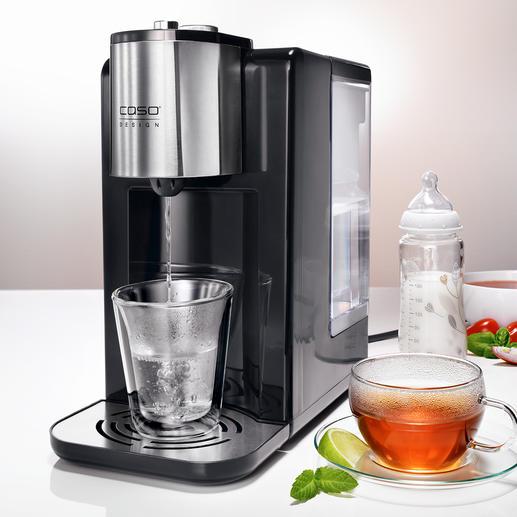 Caso Heißwasserspender HW 400 - In 5 (!) Sekunden bereit: für 1 Tasse oder bis zu 2,2 Liter heißes Wasser.