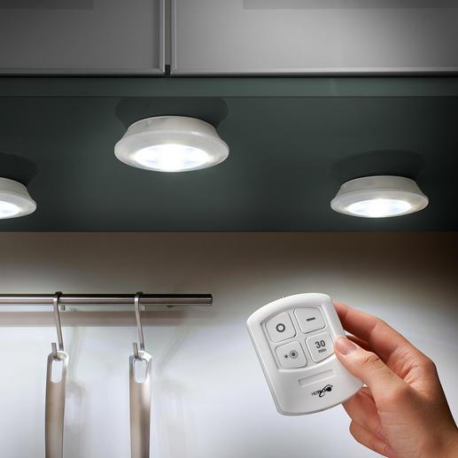 Kabellose LED Leuchten, 3er Set