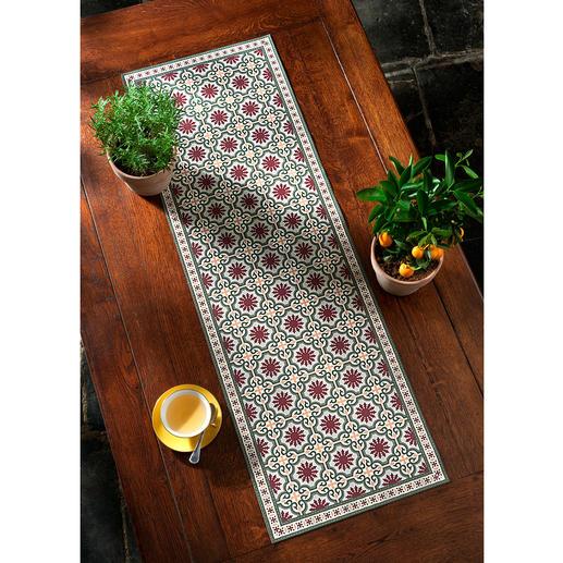 Maurisches Design bringt Urlaubsfeeling auf den Tisch.