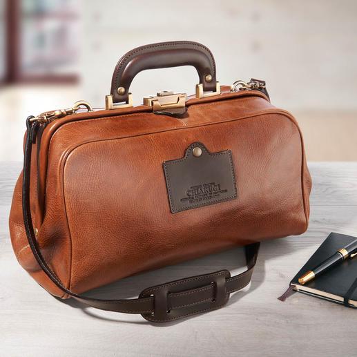 Chiarugi Doctor Bag Die stilvolle Alternative zu gesichtslosen Businesstaschen im Einheitslook.