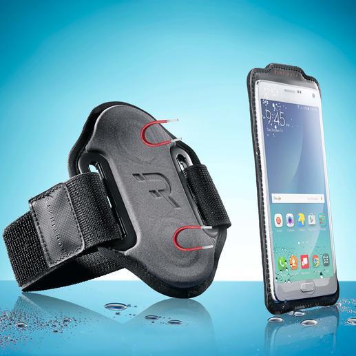 "Smartphone-Sportarmband ""magnetic"" Das Smartphone-Armband mit Magnetfunktion, Fingersensor-Öffnung und Sensor-Touch-Folie."