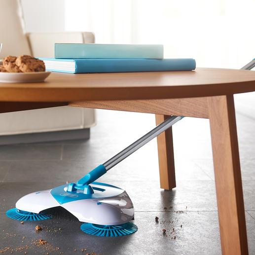 SpinBroom Bodenkehrer - Spart Zeit, Aufwand und anstrengendes Bücken.