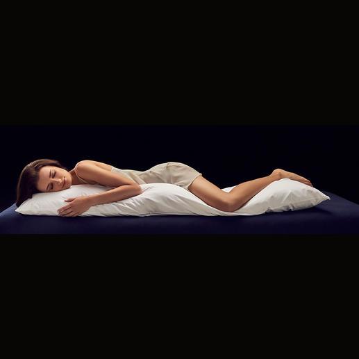 Seitenschläferkissen Zirbe Das bessere Seitenschläferkissen: kuschelige Schurwolle und feinaromatische Zirbe für traumhaften Schlafkomfort.