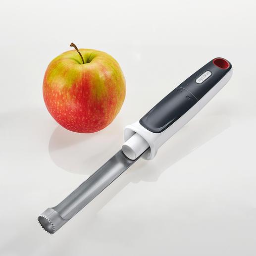 Zyliss Apfelausstecher Mit integriertem Ausstoßer. Von Zyliss. Viel schneller und sauberer. Ideal auch für große Mengen.