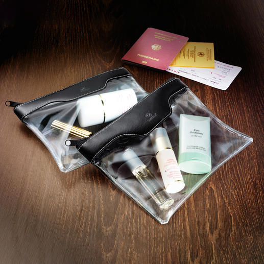 Handgepäck-Kosmetiktasche, 2er-Set Ideal als Handgepäck, für Kosmetik, Pflegeartikel, …