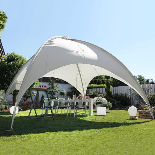 19 m²-Kuppelpavillon Das Highlight in Ihrem Garten: die 19 m²-Schattenkuppel für Party, Grillabend, zum Relaxen, ...