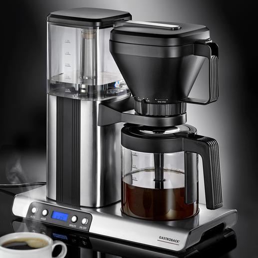 Gastroback Design-Kaffeemaschine Brew Advanced Die bessere Kaffeemaschine: brüht so heiß und präzise wie von Hand.