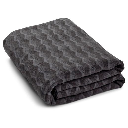 Bettüberwurf, Grau