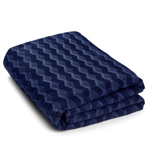 Bettüberwurf, Mitternachtsblau