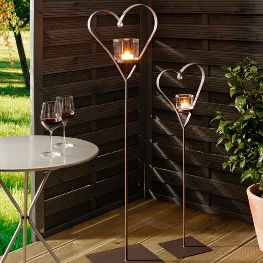 windlicht herzen 2er set 3 jahre garantie pro idee. Black Bedroom Furniture Sets. Home Design Ideas