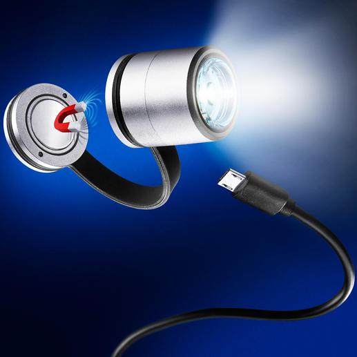 LED-Safety Light Die magnetische Ansteckleuchte: macht Sie bei Dunkelheit besser sichtbar.