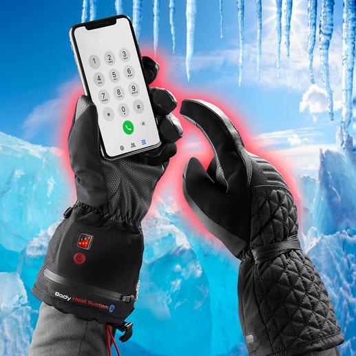 Beheizbare Winterhandschuhe - Winterhandschuh 4.0: Warm. Wasserdicht. Touchscreen-tauglich. Und per Akku (separat erhältlich) bis zu 11 Stunden beheizbar.