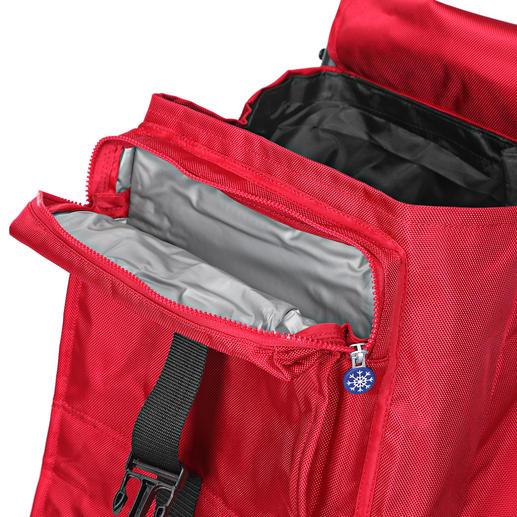 In der 6-l-Thermo-Vortasche bleiben auch tiefgekühlte Lebensmittel bis zu 2 Stunden auf Temperatur.