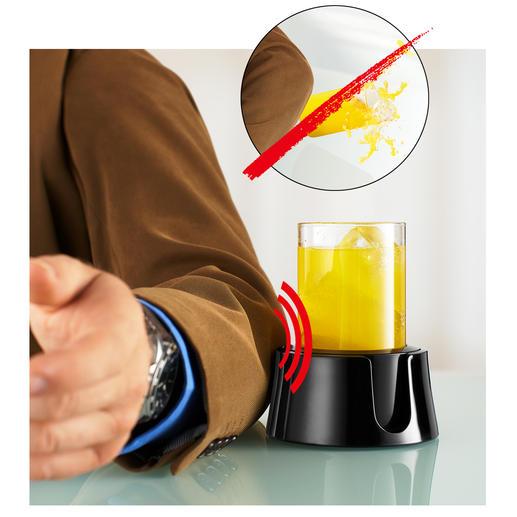 TableCoaster Nie mehr umgestoßene Getränke: auf dem Schreibtisch, beim Frühstück, auf dem Boot, ...