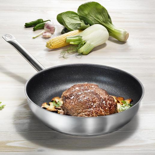 PROFILE-Premium-Pfanne Die Premium-Pfannen mit der wohl stärksten Teflon™-Versiegelung am Markt.
