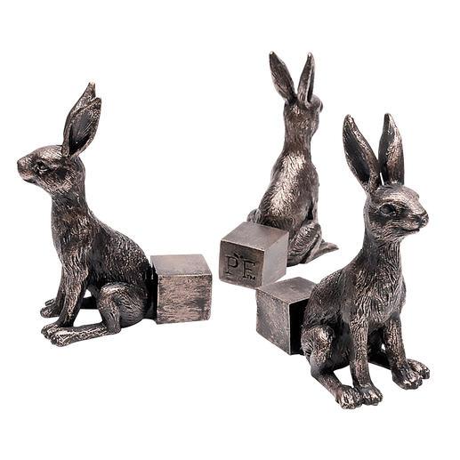 Potty Feet, 3er-Set Dekorative Hasenfiguren sorgen für mehr Freiraum unter Ihren Pflanztöpfen.